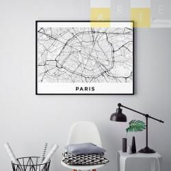 """""""Paris"""" Quadro de decoração"""