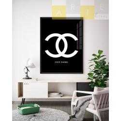"""""""Coco Chanel"""" Quadro de..."""