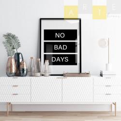 """""""No bad days"""" Quadro de..."""
