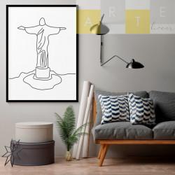 """""""Cristo Redentor"""" Quadro de..."""