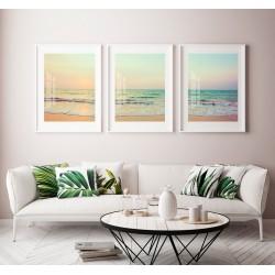 """""""Trio praia - tons pastéis""""..."""