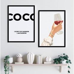 """""""Coco Chanel"""" Conjunto de..."""