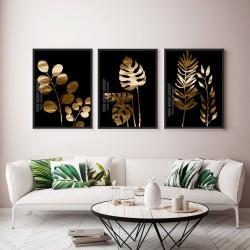 """Trio plantas ouro-preto""..."