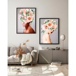 """""""Mulher - Cabeças de flor..."""