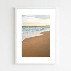 """""""Quadro praia com bordas""""..."""