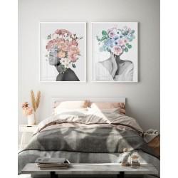 """""""Mulheres de flor"""" Conjunto..."""