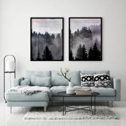 """Nevoeiro na floresta""..."