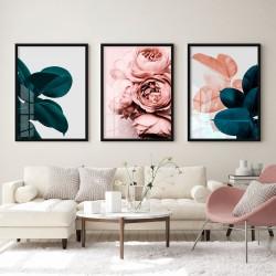 """""""Trio floral"""" Conjunto de..."""