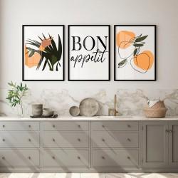 """Trio Bon Appetit"" Conjunto..."