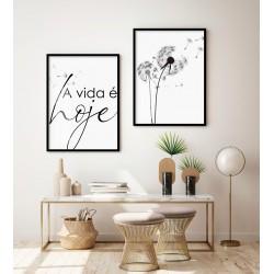 """""""A vida é Hoje"""" Conjunto de..."""