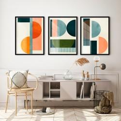 """""""Trio abstrato artístico""""..."""
