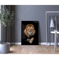 """""""Leão II"""" Quadro de decoração"""