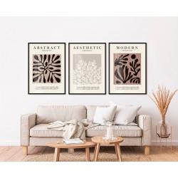 """""""Trio Matisse tons neutros""""..."""
